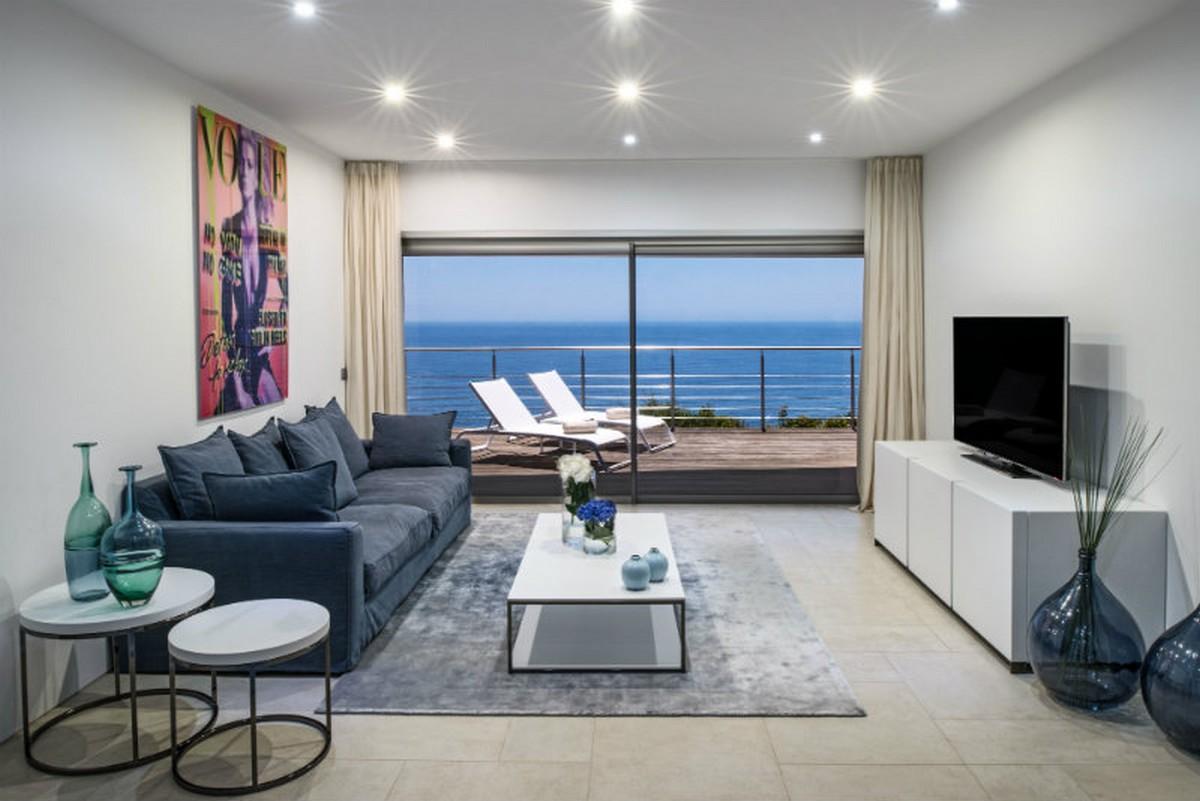 Hotel Exclusivo: Vila Vita Hotel un proyecto elegante y lujuoso en Algarve hotel exclusivo Hotel Exclusivo: Vila Vita Hotel un proyecto elegante y lujuoso en Algarve Villa Mar Azul lower floor living room