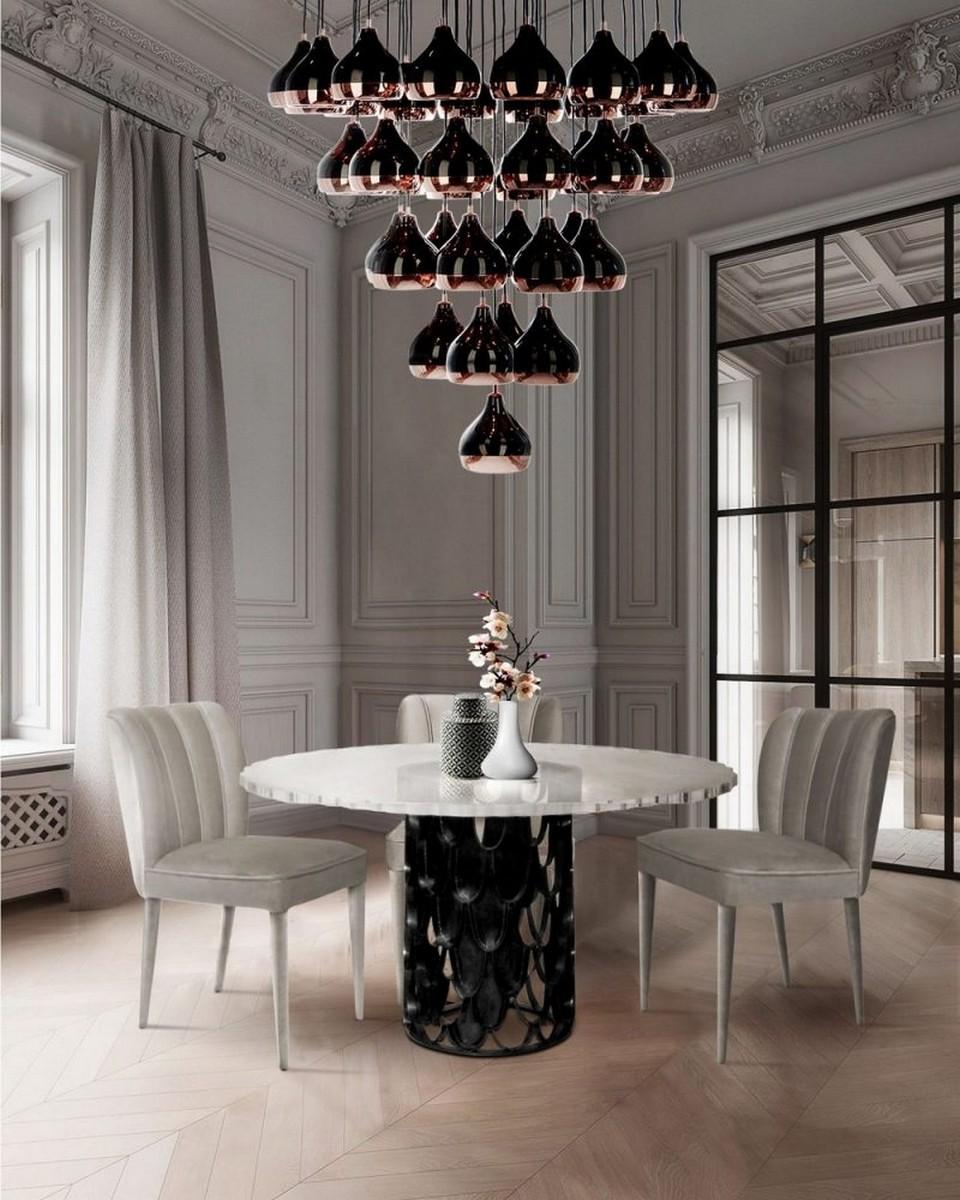 Muebles Modernos: Ideas de Comedores para un Interior lujuoso muebles modernos Muebles Modernos: Ideas de Comedores para un Interior lujuoso a tocuh of black 800x1000 1
