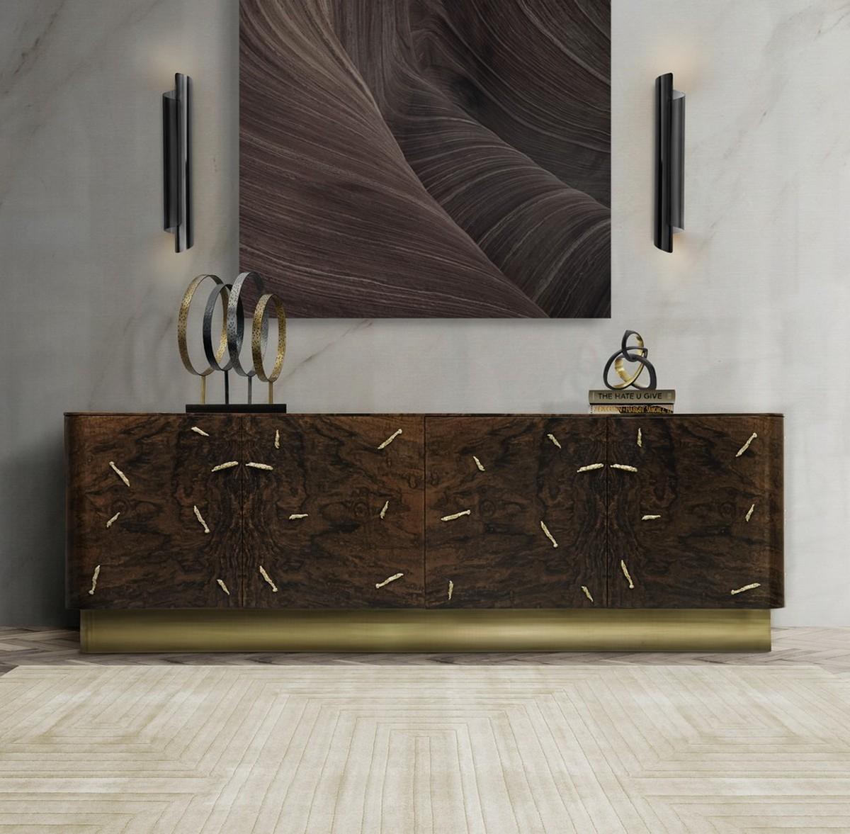 Aparadores Modernos: Ideas para cambiar un Diseño de Interiores lujuoso aparadores modernos Aparadores Modernos: Ideas para cambiar un Diseño de Interiores lujuoso baraka sideboard cyrus wall