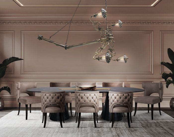 Muebles Modernos: Ideas de Comedores para un Interior lujuoso muebles modernos Muebles Modernos: Ideas de Comedores para un Interior lujuoso traditional with a twiast