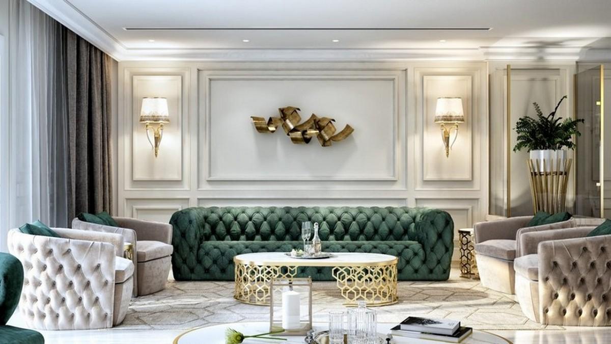 Tendencias de Interiores: Sala de Estar poderosas y lujuosas tendencias de interiores Tendencias de Interiores: Sala de Estar poderosas y lujuosas 16 2 1280x720 1