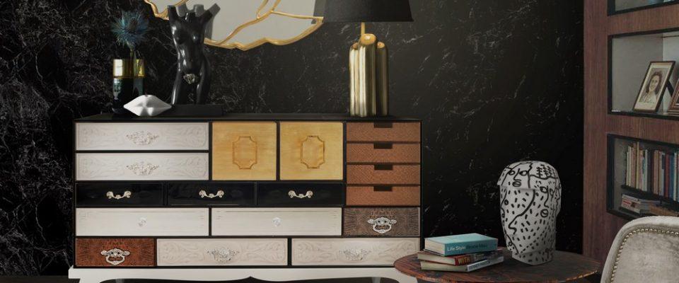 Diseño de Interiores: 5 Espejos para conjugar con un aparador lujuoso