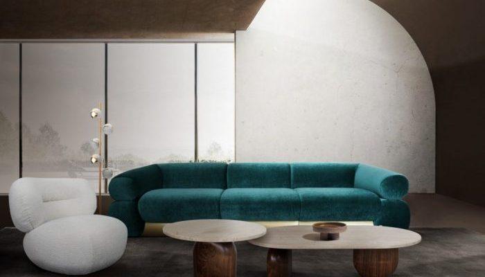 Tendencias de Interiores: Una Colección contemporánea lujuosa
