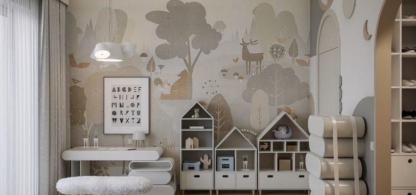 Diseño de Interiores para niños: Dormitorios con elementos modernos y especiales