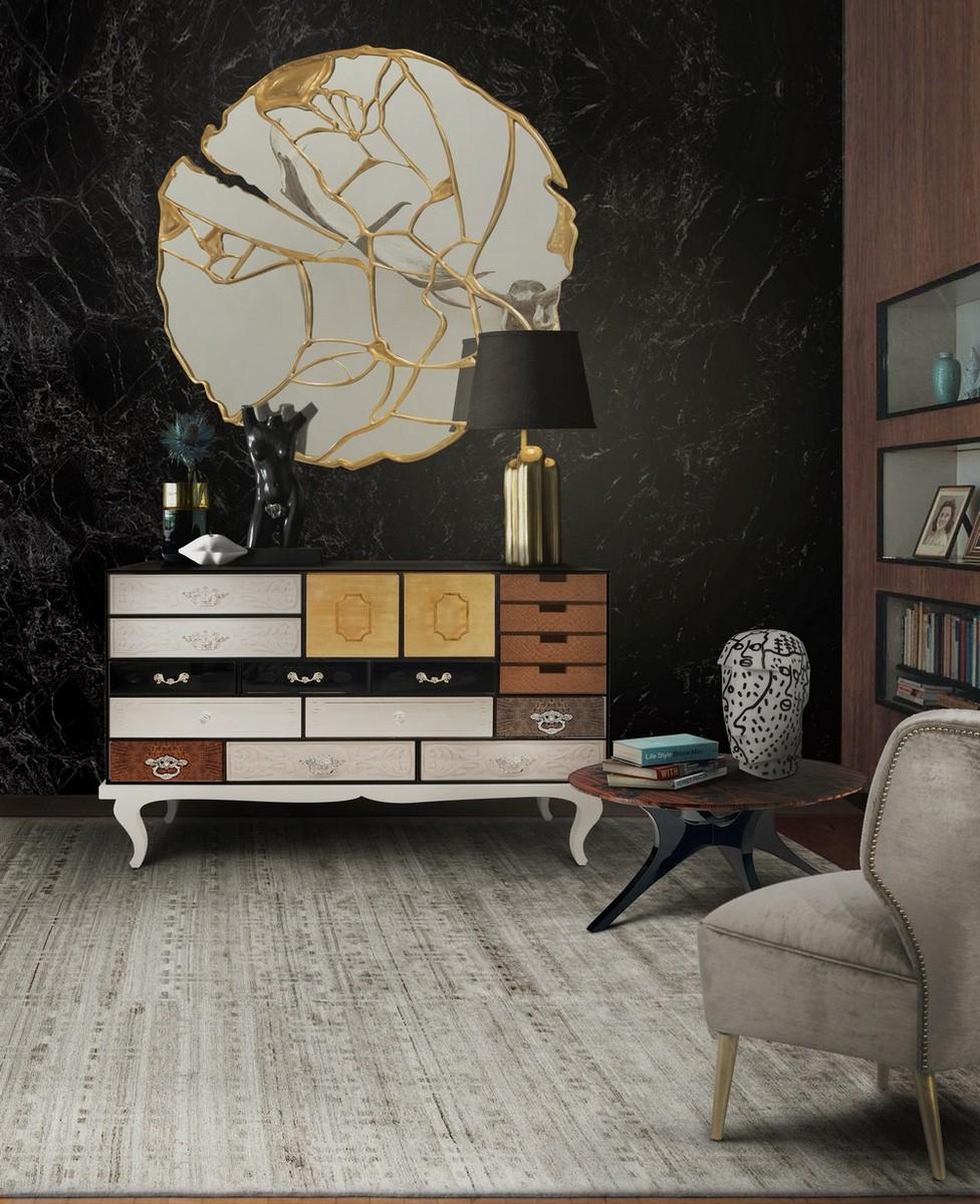 Diseño de Interiores: 5 Espejos para conjugar con un aparador lujuoso diseño de interiores Diseño de Interiores: 5 Espejos para conjugar con un aparador lujuoso glance cover