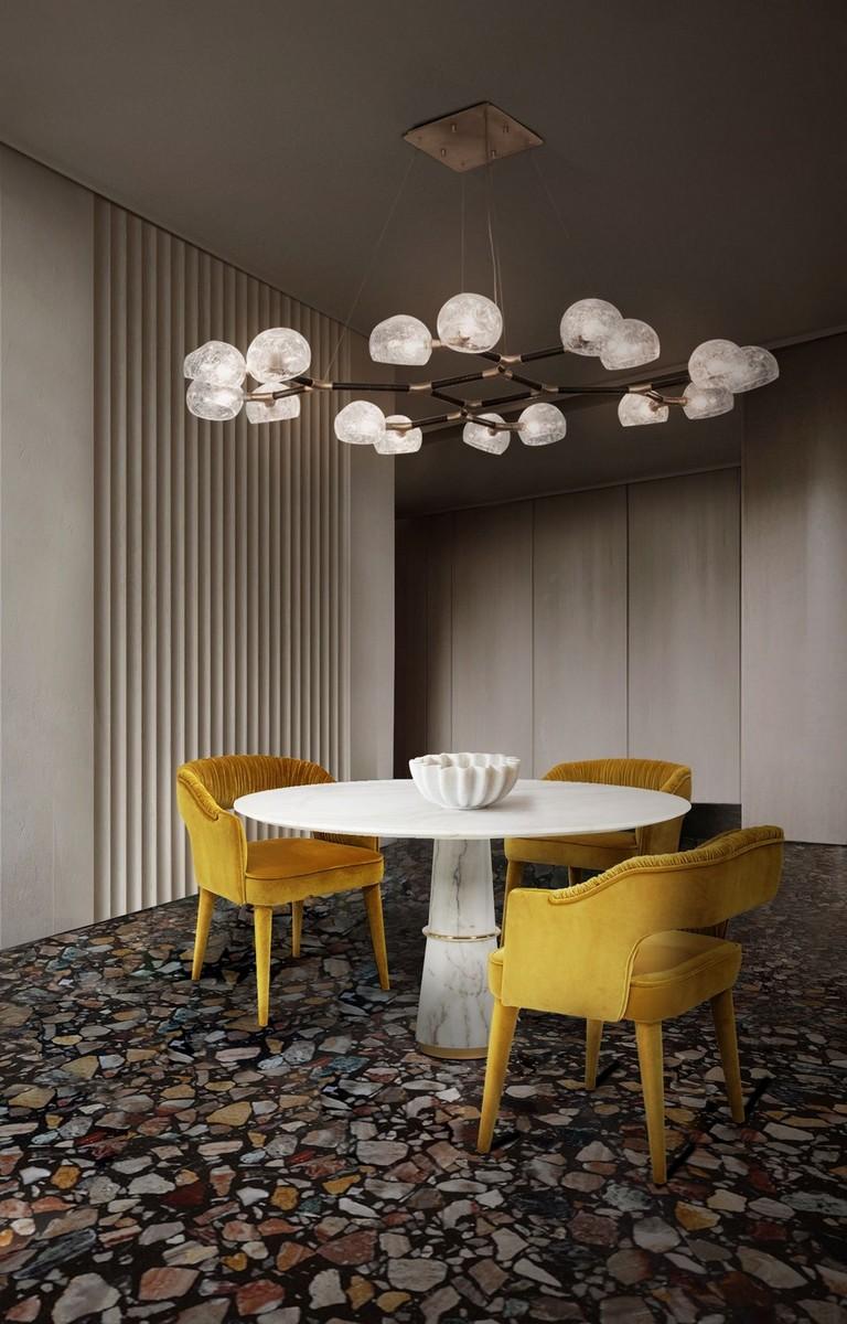 diseño de comedor Diseño de Comedor: Una seleción de muebles lujuosos y coloridos 2sKvTOw