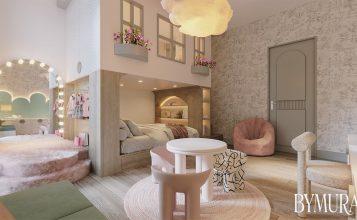Estudio de Interiores: ByMura ha creado un dormitorio para niños especiales estudio de interiores Estudio de Interiores: ByMura ha creado un dormitorio para niños especiales BYMURA Studio Created a Dreamy Kids Bedroom in Mexico 2 357x220
