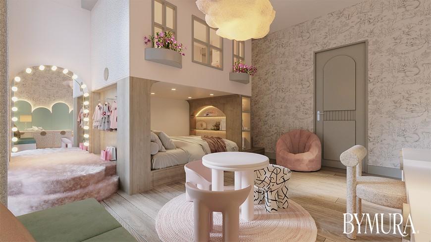 Estudio de Interiores: ByMura ha creado un dormitorio para niños especiales