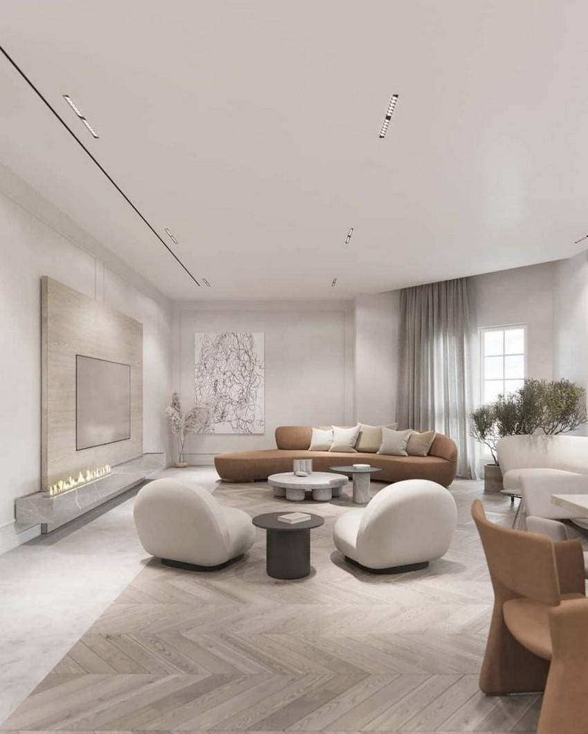 Tendencias de Interiores: Sala de estar lujuosas con elementos poderosos