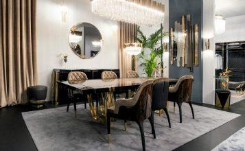 Diseño de Espejos agregan glamour, lujo y exclusividad a cualquier comedor, puedes poner un proyecto y un ambiente más elegante y refinado [object object] Diseño de Espejos para un proyecto contemporaneo y lujuoso de Comedor Featured1 6 357x220