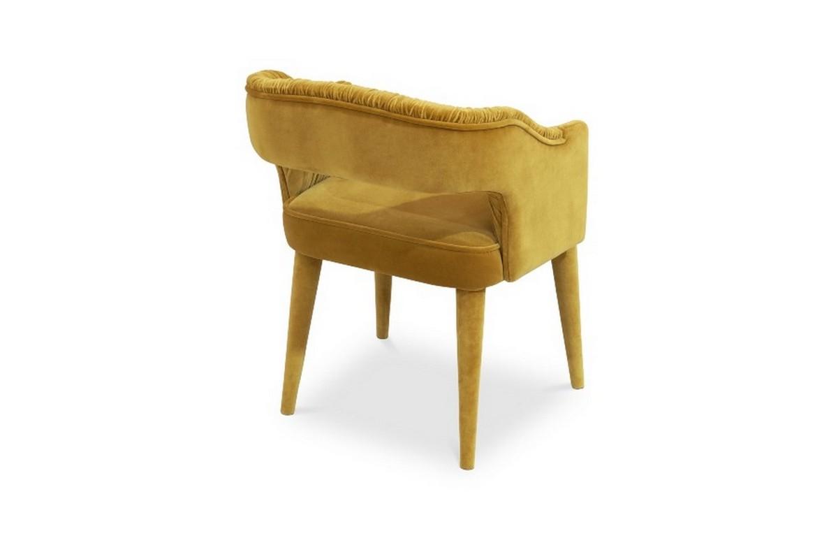Diseño de Comedor: Una seleción de muebles lujuosos y coloridos diseño de comedor Diseño de Comedor: Una seleción de muebles lujuosos y coloridos STOLA Dining Chair The Dinner Guest You Have Been Expecting 4