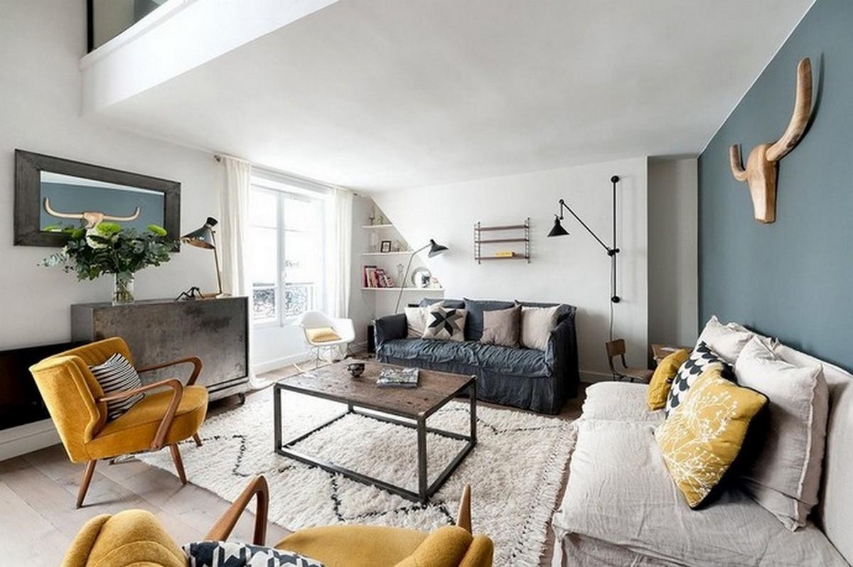 Tendencias de Lujo: Ideas para una Sala de Estar Contemporánea tendencias de lujo Tendencias de Lujo: Ideas para una Sala de Estar Contemporánea Unique Living Rooms Designs for a Contemporary Home 4