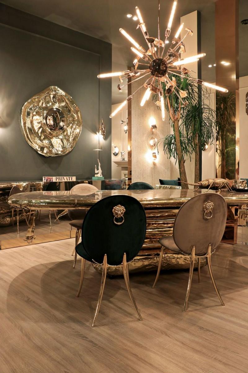 espejos de lujo Espejos de lujo que le darán vida a su comedor moderno y exclusivo bl isaloni 03 HR 1