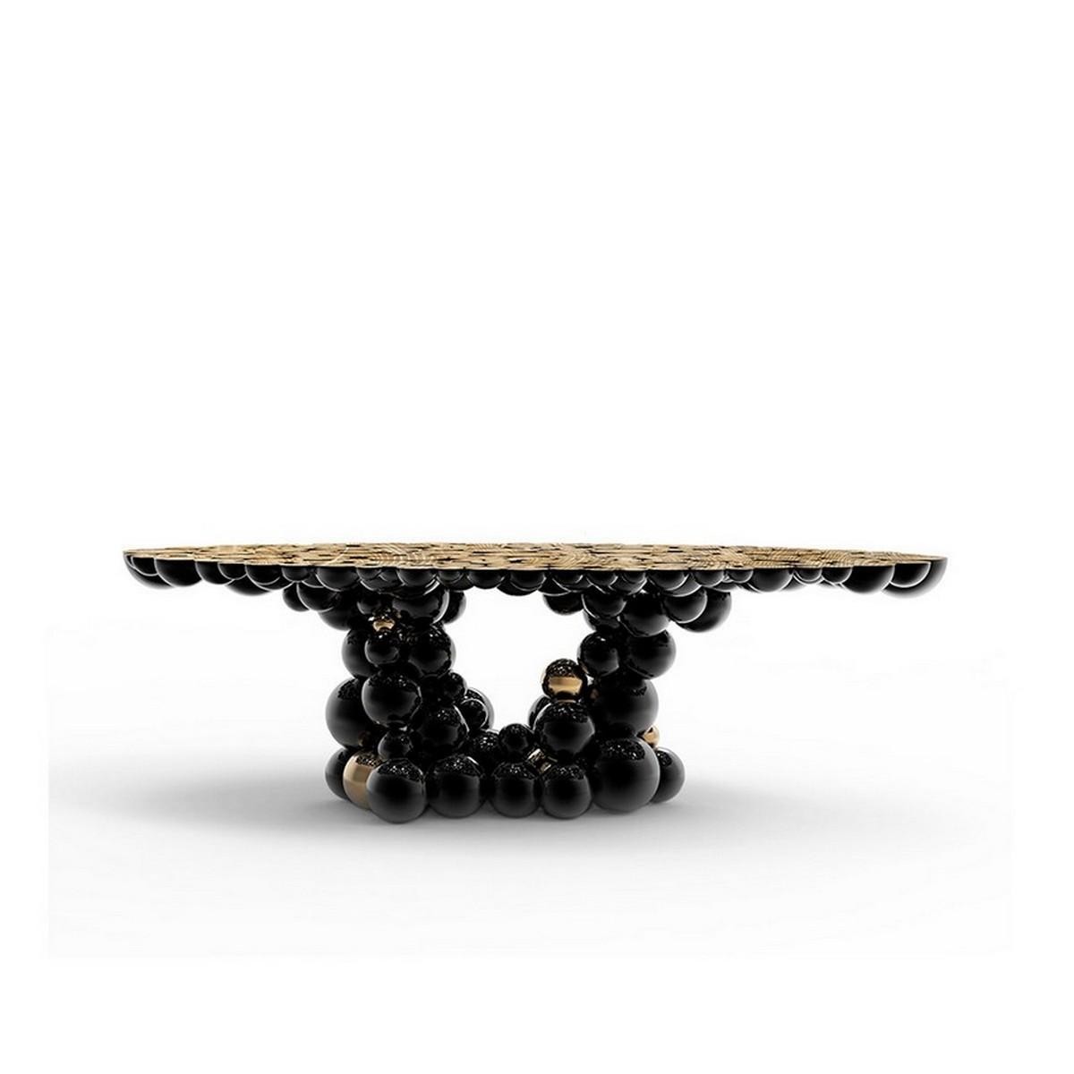 Ideas para Interiores: Belleza para un proyecto lujuoso con Texturas ideas para interiores Ideas para Interiores: Belleza para un proyecto lujuoso con Texturas bocadolobo newton dining table imagem principal 3