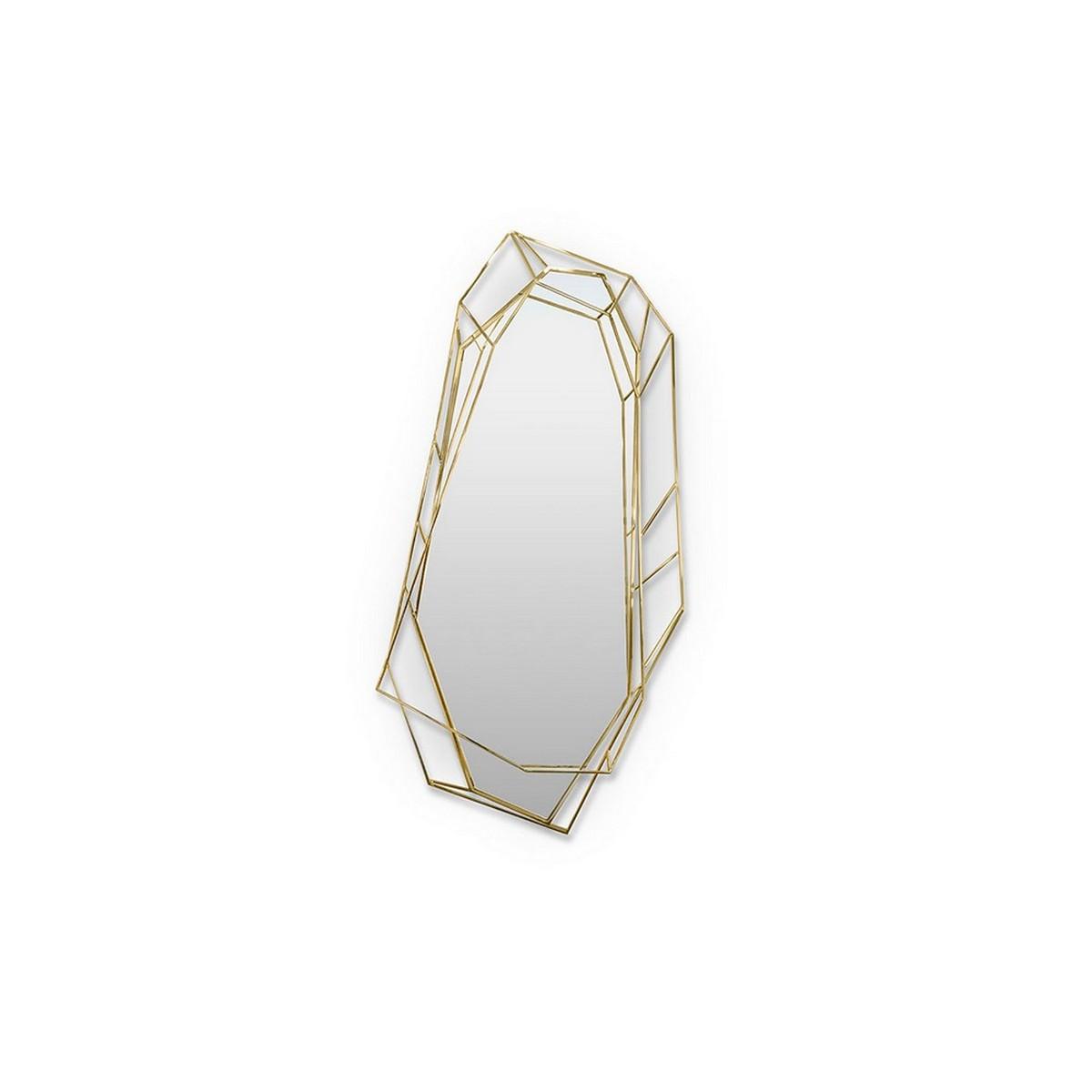 Diseño de Interiores: Ideas para comedores de mediados de Siglo contemporáneos diseño de interiores Diseño de Interiores: Ideas para comedores de mediados de Siglo contemporáneos diamond wall mirror essential home 01