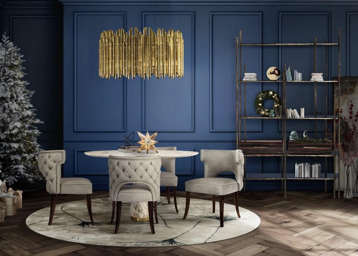 Ideas de Navidad elegantes para 2020 ideas de navidad Ideas de Navidad elegantes para 2020 dining room 5