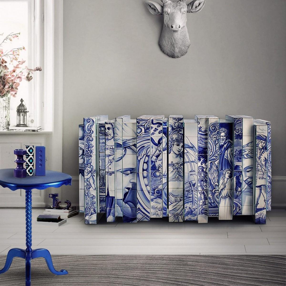 Diseño de Comedor: Una seleción de muebles lujuosos y coloridos diseño de comedor Diseño de Comedor: Una seleción de muebles lujuosos y coloridos heritage sideboard 07