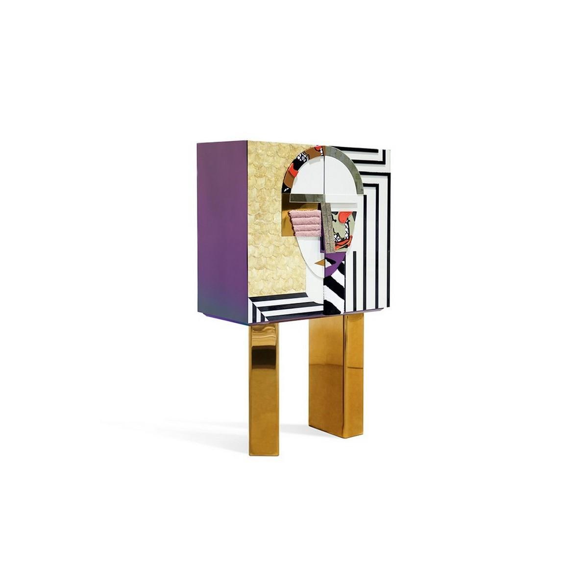 Diseño de Interiores: Armarios de Bar para un proyecto lujuoso diseño de interiores Diseño de Interiores: Armarios de Bar para un proyecto lujuoso hs mirage cabinet 2 1