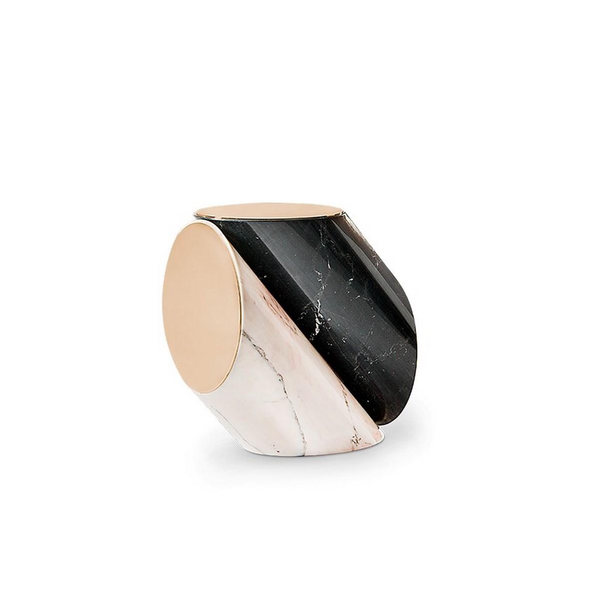 Tendencia de Mesas poderosas y elegantes: lujo en mármol [object object] Tendencia de Mesas poderosas y elegantes:  lujo en mármol jacobsen side table 1