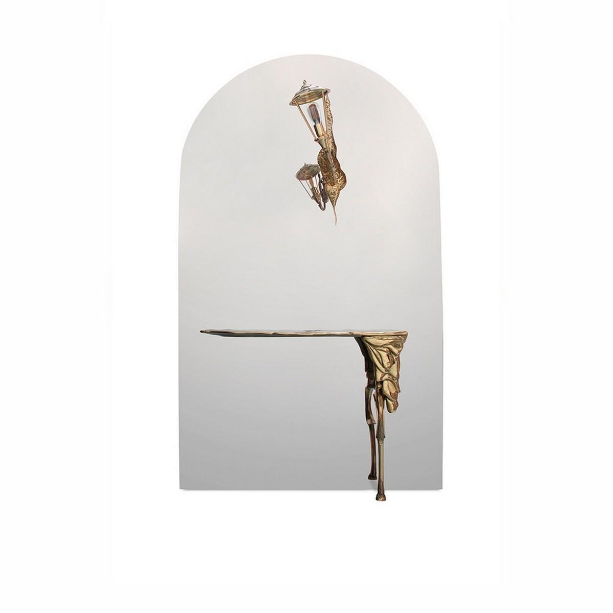 [object object] Diseño de Espejos para un proyecto contemporaneo y lujuoso de Comedor lumiere console boca do lobo 01 1 1