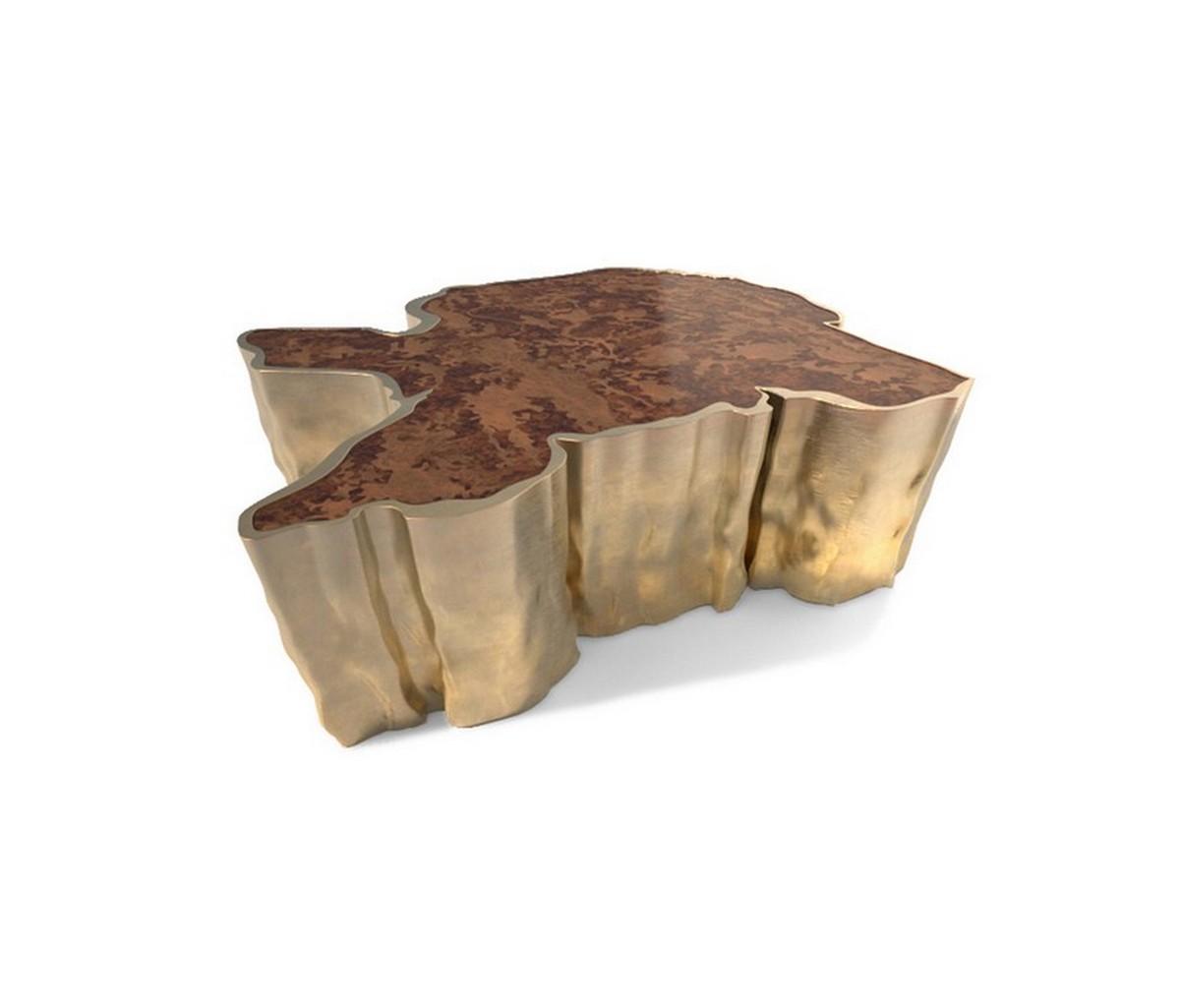 Diseños de Interiores inspirados en Naturaleza: ideas para cambiar un proyecto diseño de interiores Diseño de Interiores inspirados en Naturaleza: ideas para cambiar un proyecto sequoia center table b