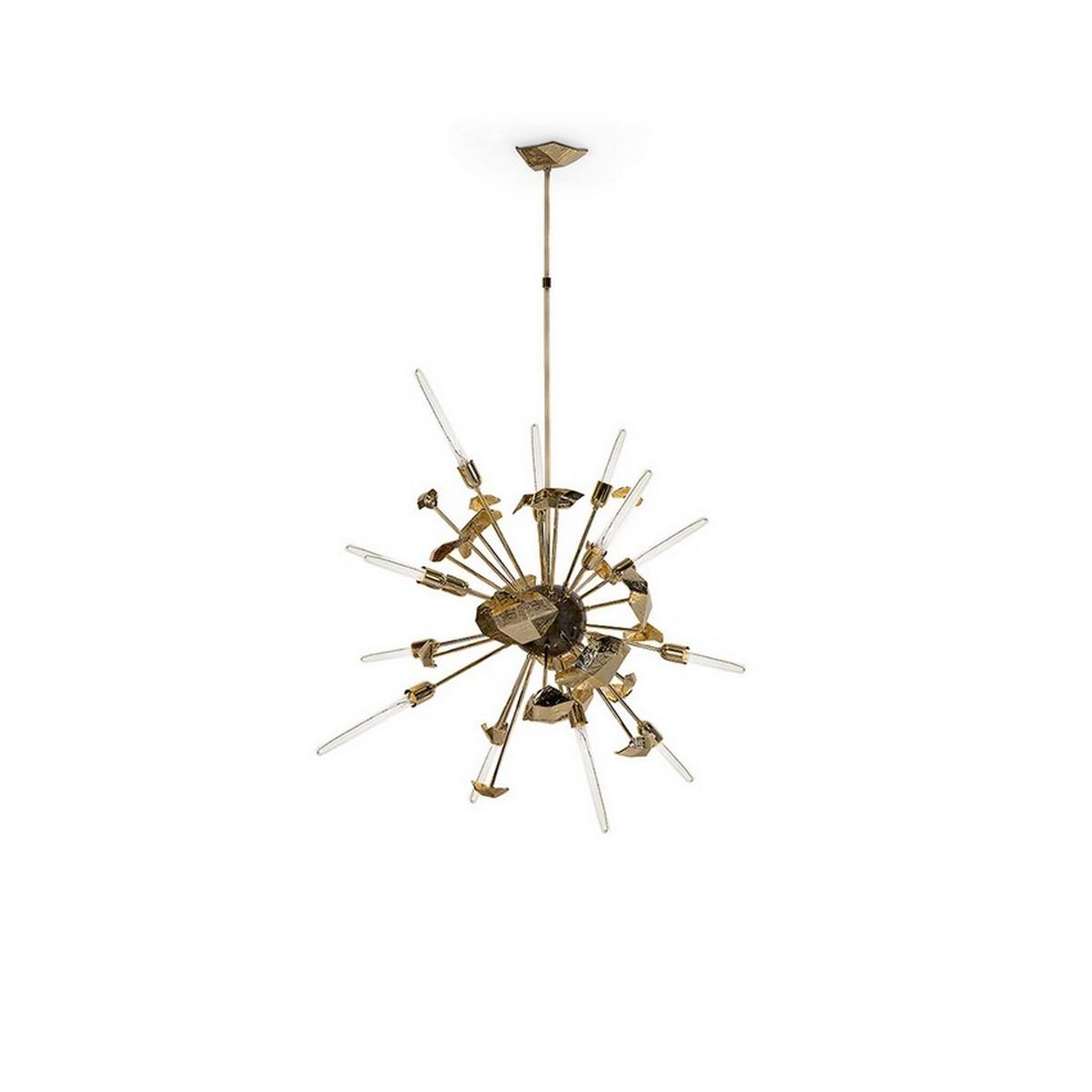 Diseño de Interiores: ideas para piezas elegantes y lujuosas diseño de interiores Diseño de Interiores: ideas para piezas elegantes y lujuosas supernova chandelier boca do lobo 01