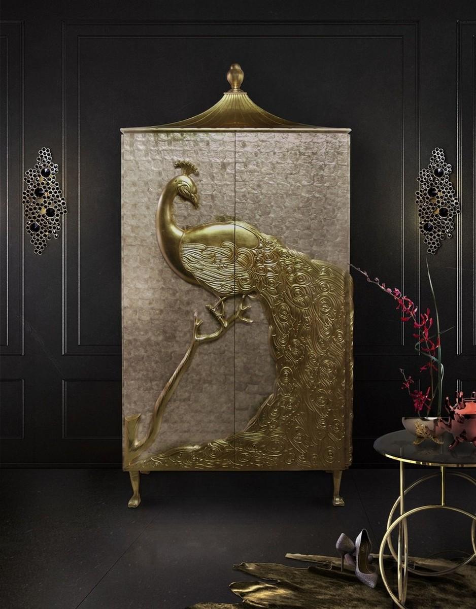 Interiores Lujuosos con Aparadores inspiradores en la arte interiores lujuosos Interiores Lujuosos con Aparadores inspiradores en la arte 1 1