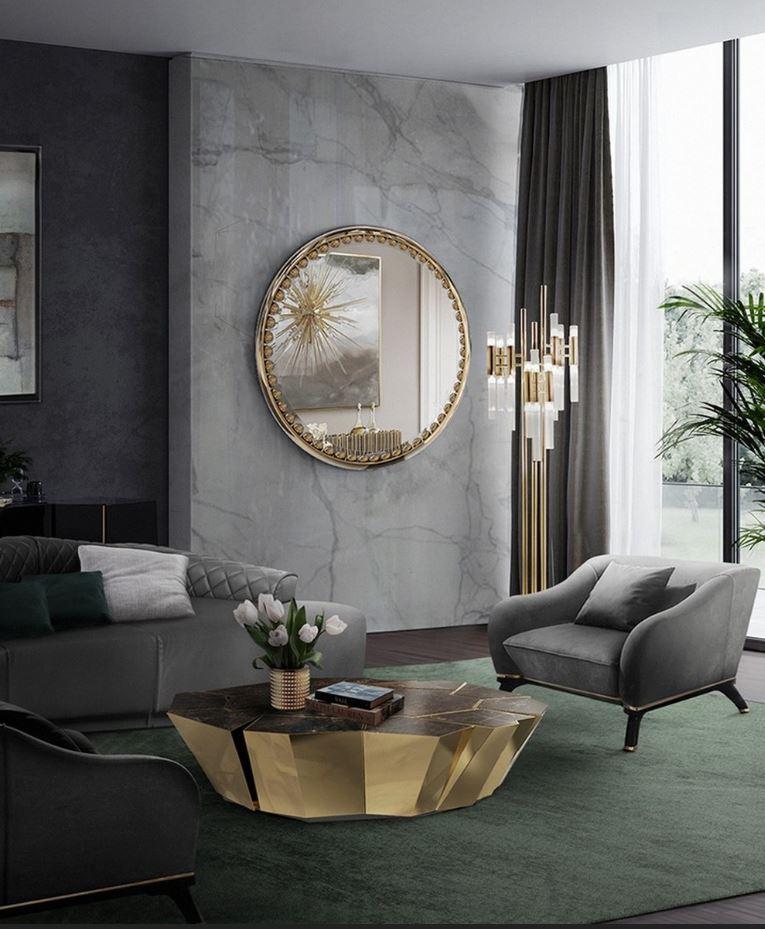 diseño de interiores Diseño de Interiores: Composición, fidelidad y resiliencia en tonos Gris 4 2