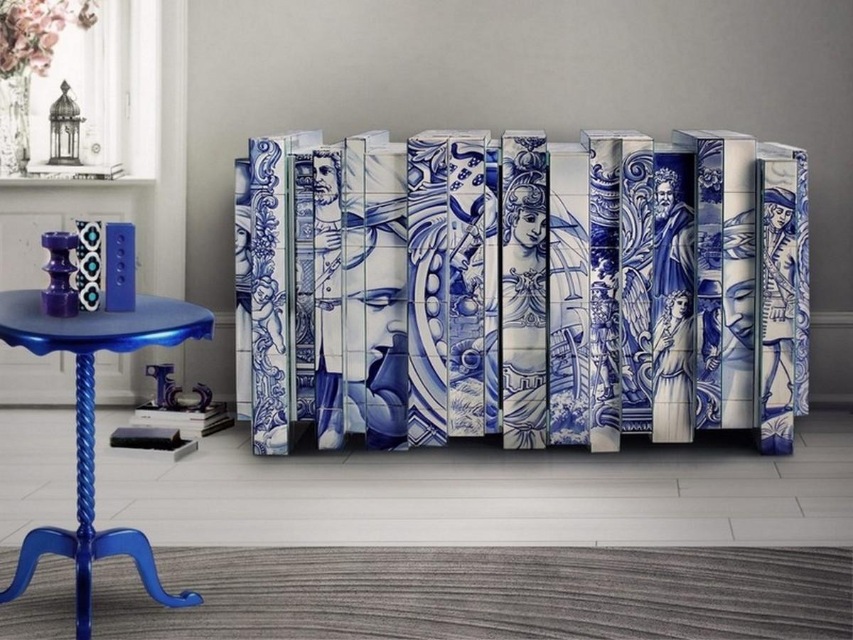 Interiores Lujuosos con Aparadores inspiradores en la arte interiores lujuosos Interiores Lujuosos con Aparadores inspiradores en la arte 5