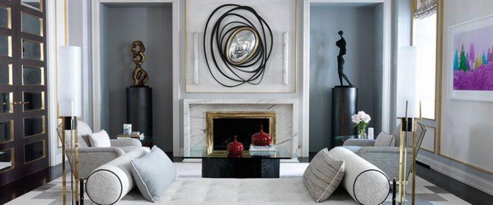Diseño de Sala de estar: combinaciones de colores poderosas