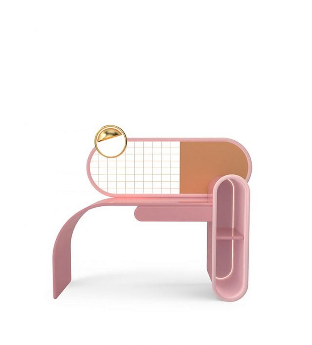 Diseño de Interiores: Divertidas y con colores para un proyecto lujuoso diseño de interiores Diseño de Interiores: Divertidas y con colores para un proyecto lujuoso bubble gum desk circu magical furniture 1 640x708 1