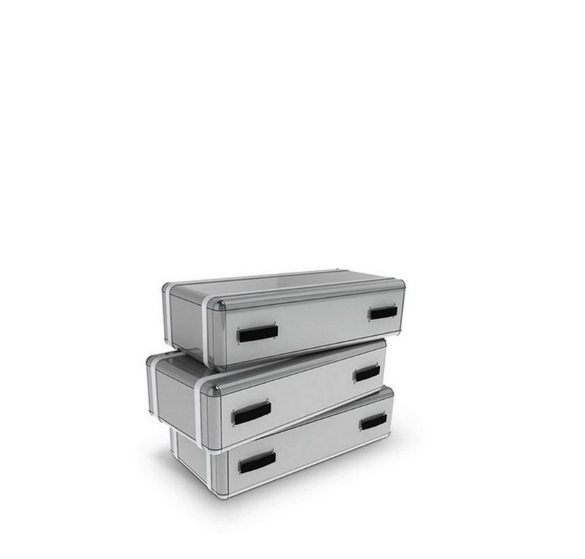 Diseño de Interiores: Composición, fidelidad y resiliencia en tonos Gris diseño de interiores Diseño de Interiores: Composición, fidelidad y resiliencia en tonos Gris circu sky chest 3 drawers 02