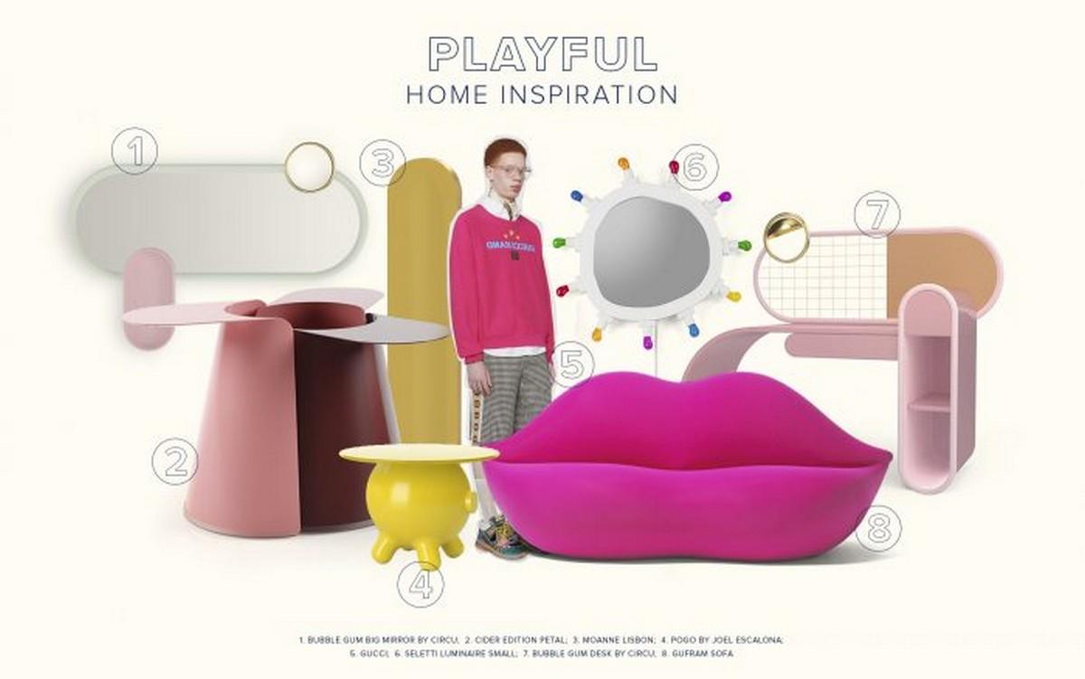 Diseño de Interiores: Divertidas y con colores para un proyecto lujuoso diseño de interiores Diseño de Interiores: Divertidas y con colores para un proyecto lujuoso moodboards trends 2022 playful design inspiration