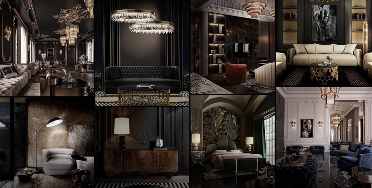 Diseño de Interiores con una seleción inspiradora y lujuosa