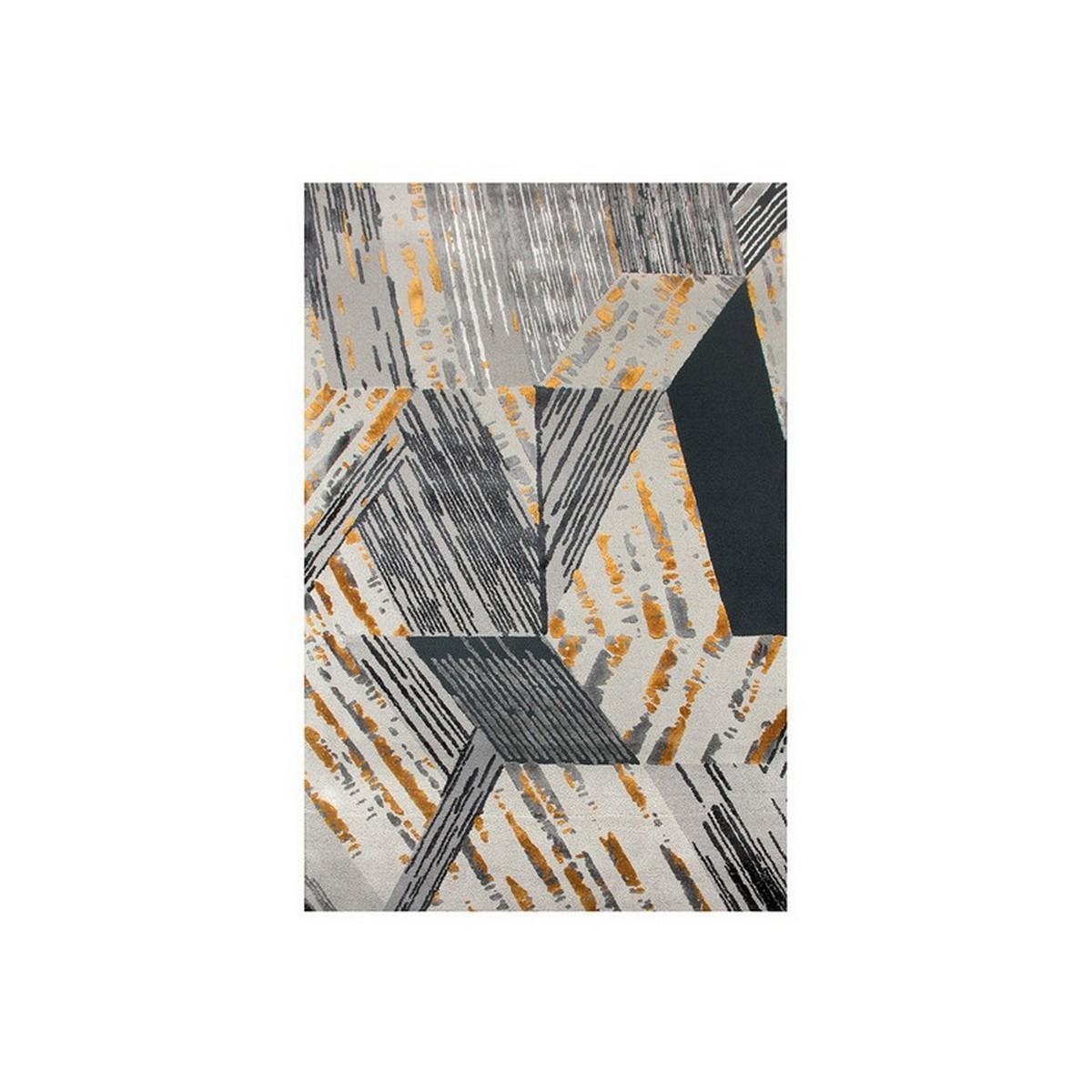 Diseño de Interiores: Composición, fidelidad y resiliencia en tonos Gris diseño de interiores Diseño de Interiores: Composición, fidelidad y resiliencia en tonos Gris xisto geometrical rug rugsociety 01