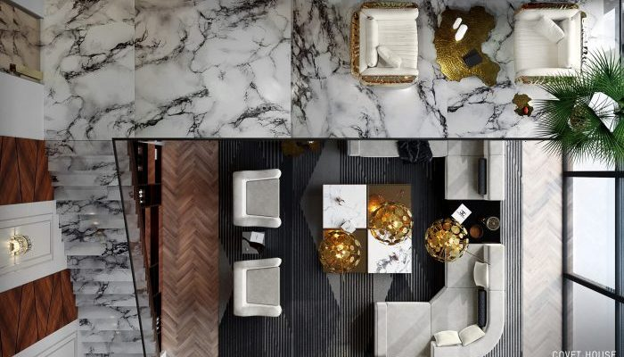 Una Villa Moderna y lujuosa de 8.5 millones por Covet House
