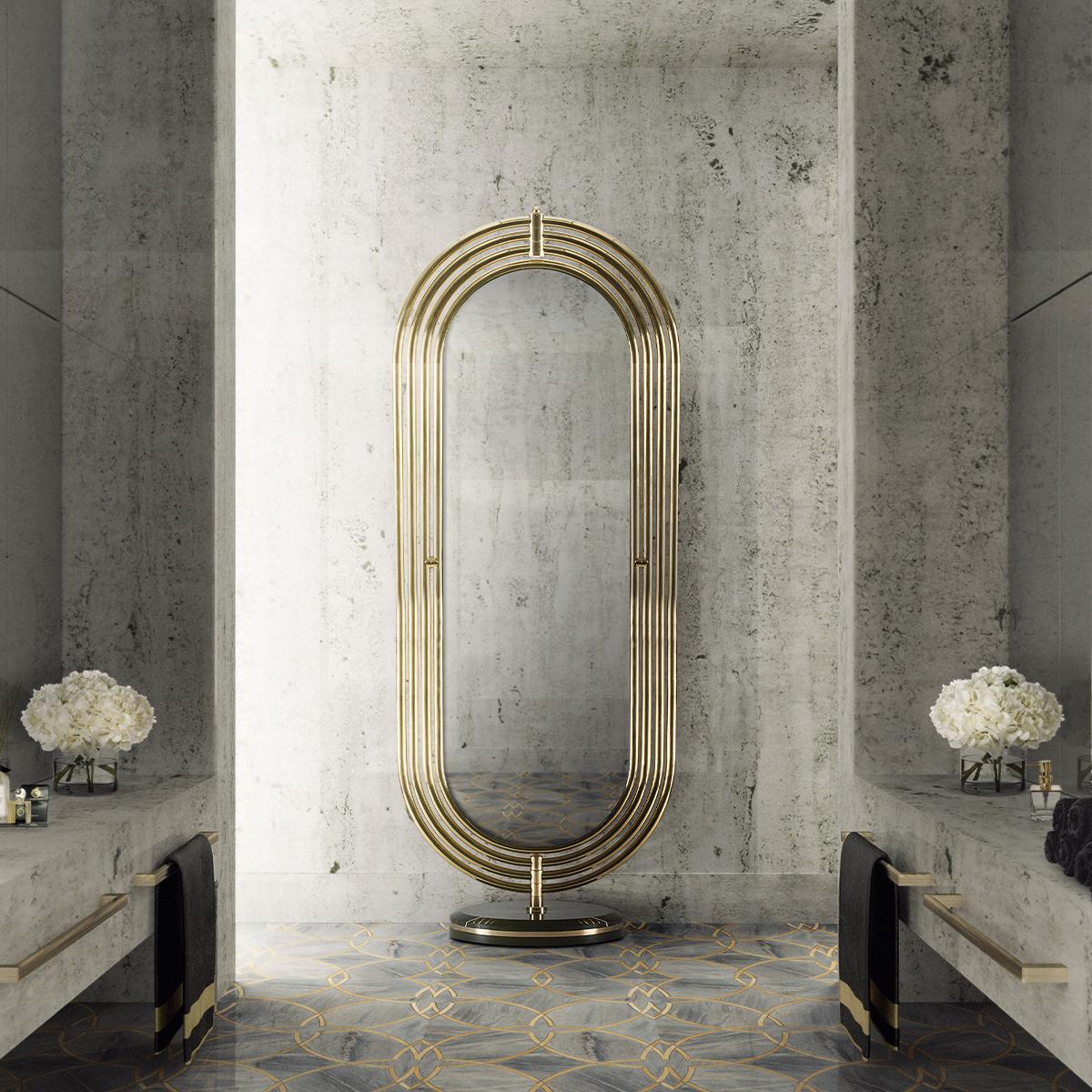 Espejos excluisvos: Piezas elegantes y lujuosas para un proyecto perfecto espejos exclusivos Espejos exclusivos: Piezas elegantes y lujuosas para un proyecto perfecto 22 colosseum floor mirror maison valentina HR