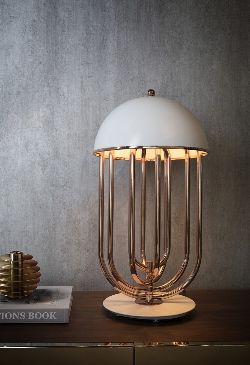 lámparas de mesa Lámparas de mesa: Piezas exclusivas para un proyecto lujuoso Check out these Lovely Lamps for your Luxury Bedroom 3