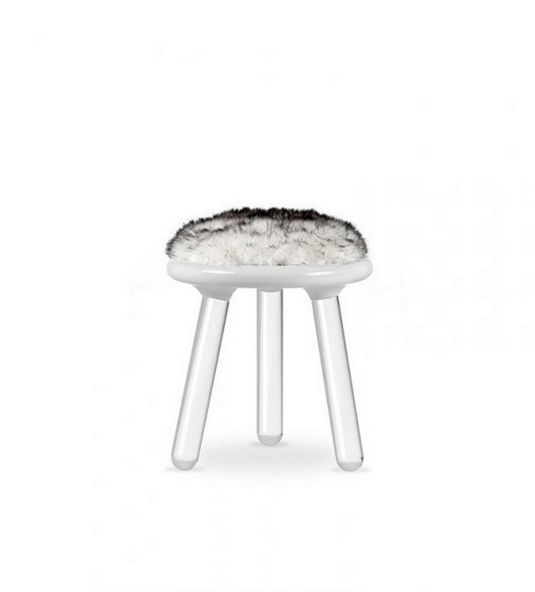 Circu Presenta una experencia exclusiva de diseño mágico diseño mágico Circu Presenta una experencia exclusiva de diseño mágico illusion stool white bear circu magical furniture 1 1
