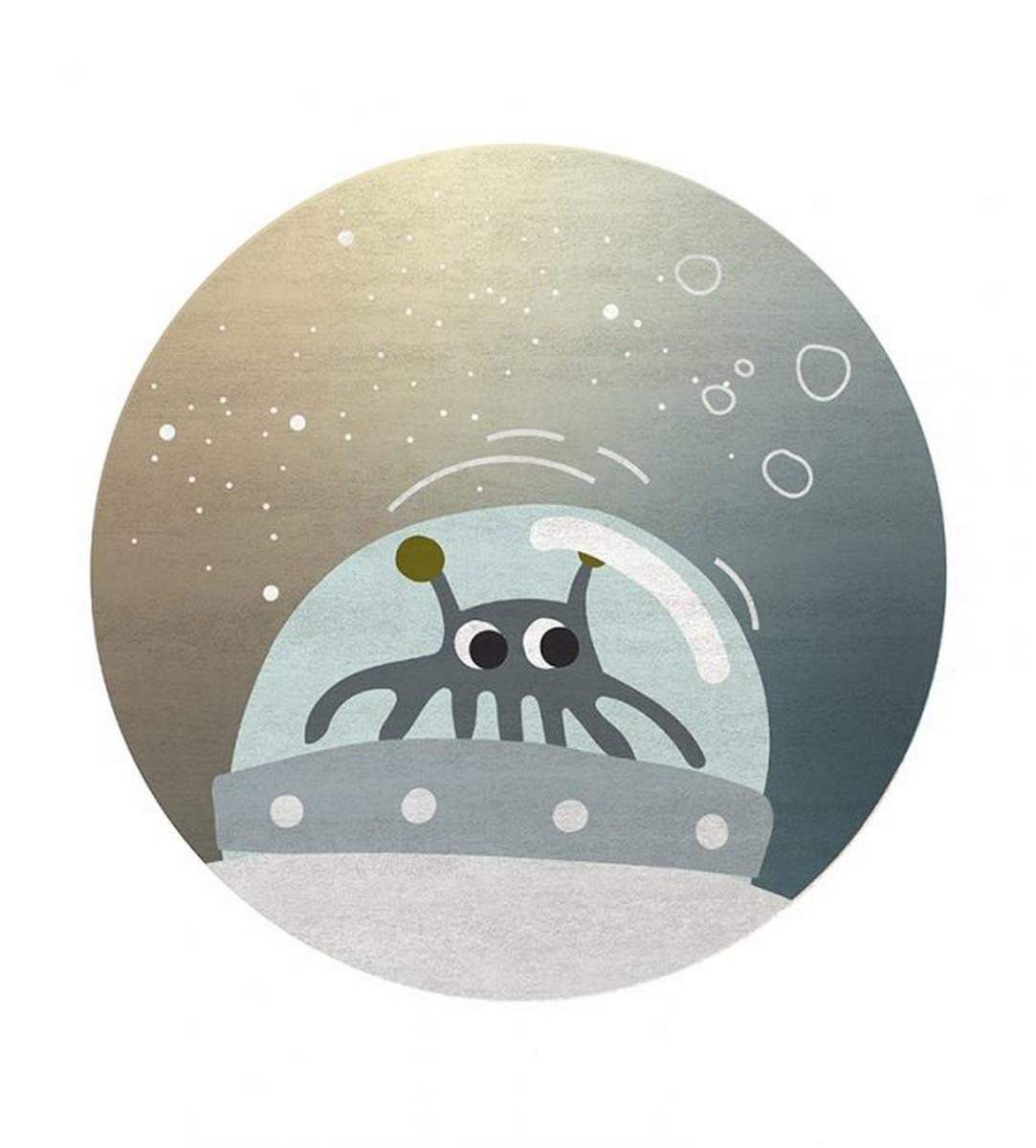diseño para niños Diseño para niños: Nuevas Alfombras Mágicas por Circu mr martion round rug circu magical furniture 1
