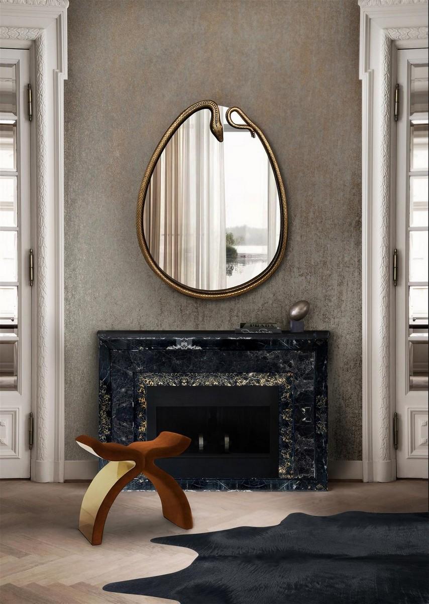 Espejos excluisvos: Piezas elegantes y lujuosas para un proyecto perfecto espejos exclusivos Espejos exclusivos: Piezas elegantes y lujuosas para un proyecto perfecto serpentine mirror koket projects