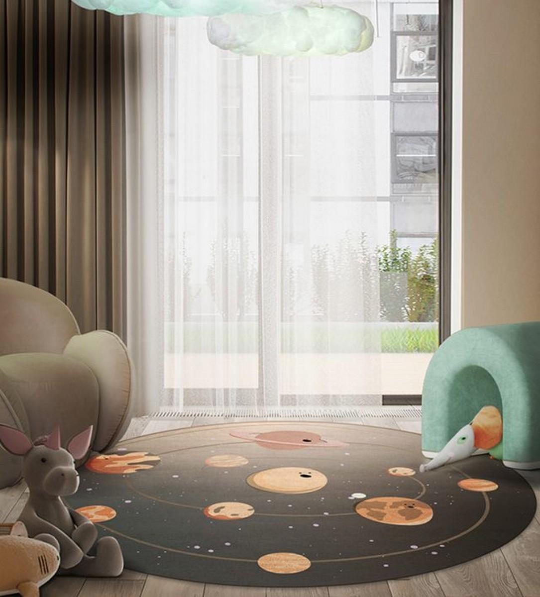 Diseño para niños: Nuevas Alfombras Mágicas por Circu diseño para niños Diseño para niños: Nuevas Alfombras Mágicas por Circu solar system rug circu magical furniture 2 640x708 1