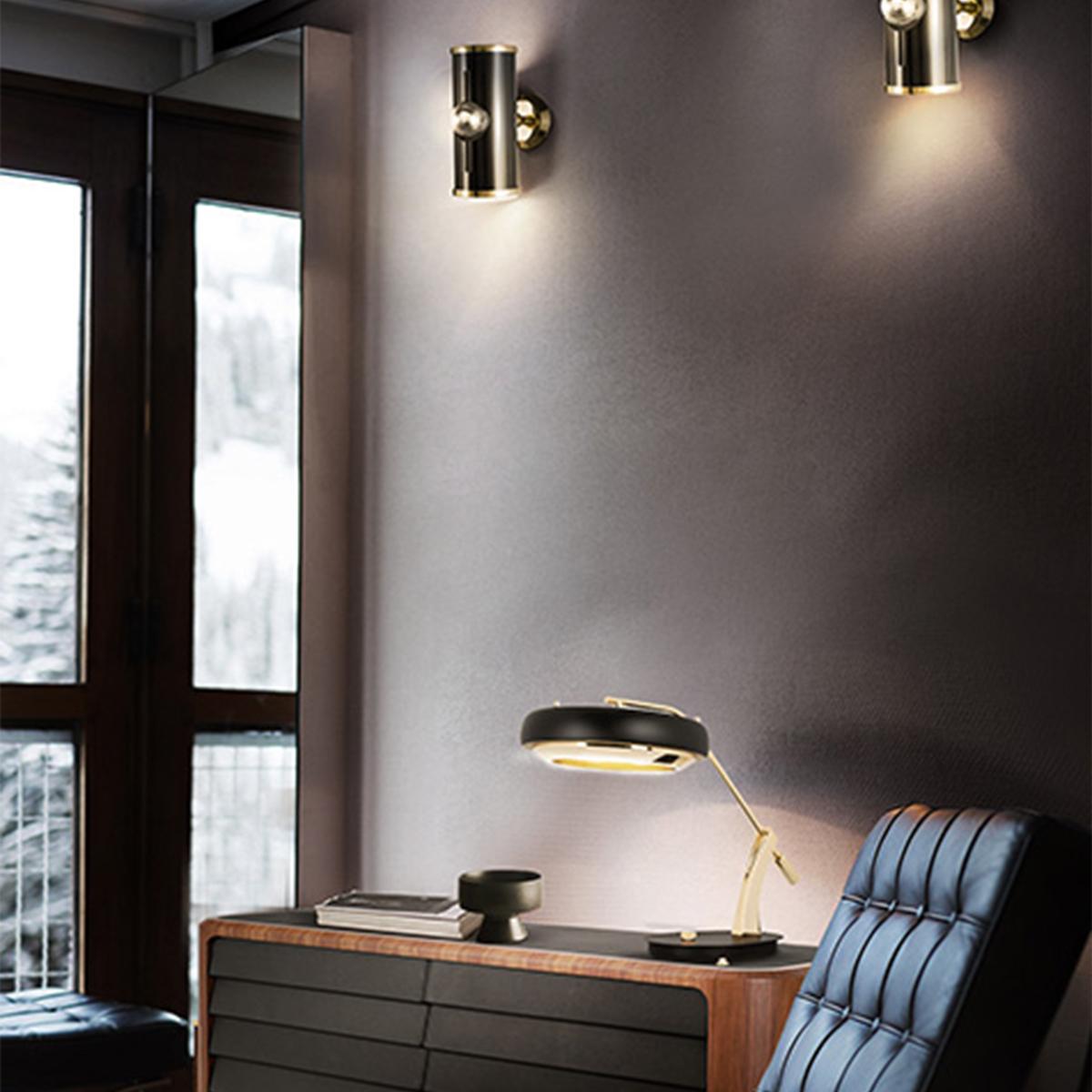 Lámparas de mesa: Ideias poderosas para un proyecto lujuoso lámparas de mesa Lámparas de mesa: Ideias poderosas para un proyecto lujuoso DELIGHTFULL CARTER DESK TABLE LAMP 02