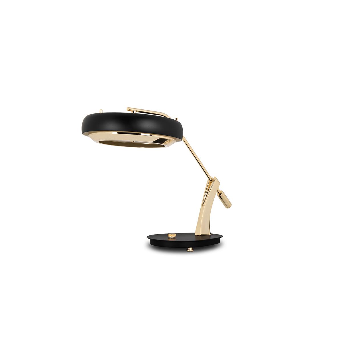Lámparas de mesa: Ideias poderosas para un proyecto lujuoso lámparas de mesa Lámparas de mesa: Ideias poderosas para un proyecto lujuoso DELIGHTFULL CARTER DESK TABLE LAMP