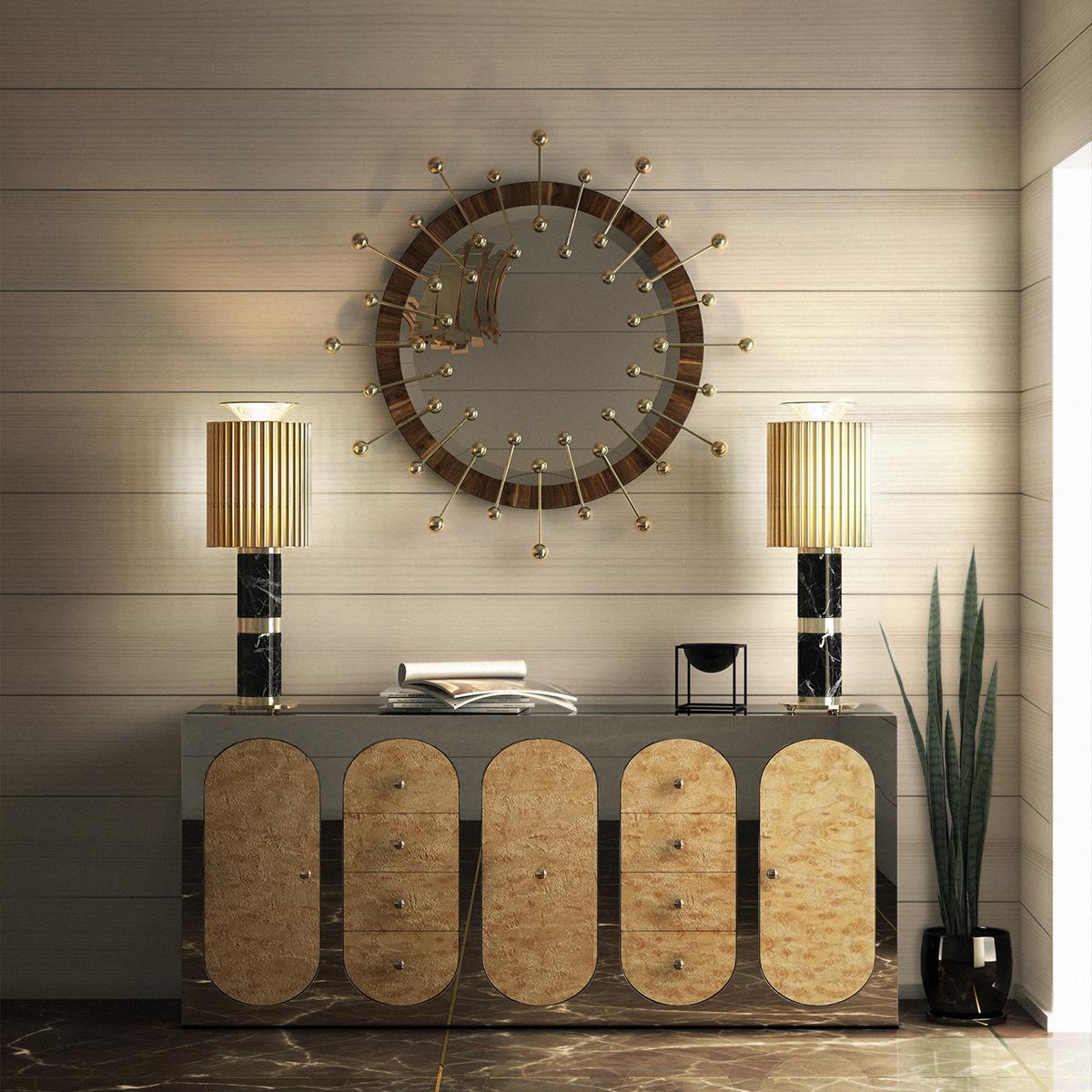 Lámparas de Mesa: Piezas poderosas para un proyecto elegante lámparas de mesa Lámparas de Mesa: Piezas poderosas para un proyecto elegante DELIGHTFULL DONNA TABLE LAMP