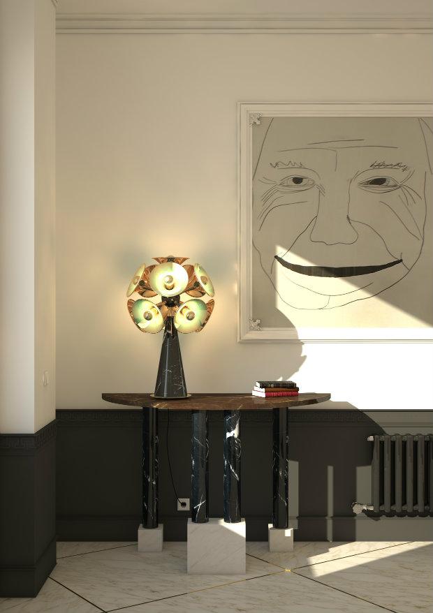 lámparas de mesa Lámparas de mesa: Ideias poderosas para un proyecto lujuoso Inspiring Unique Table Lamps for a home decor projecBotti table lamp by delightfull 1