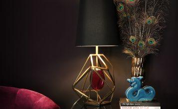 Lámparas de mesa: Ideas lujuosas para un proyecto elegante aparadores lujuosos Aparadores Lujuosos: Ideas para poner en un proyecto exclusivo KOKET GEM TABLE LAMP 1 357x220