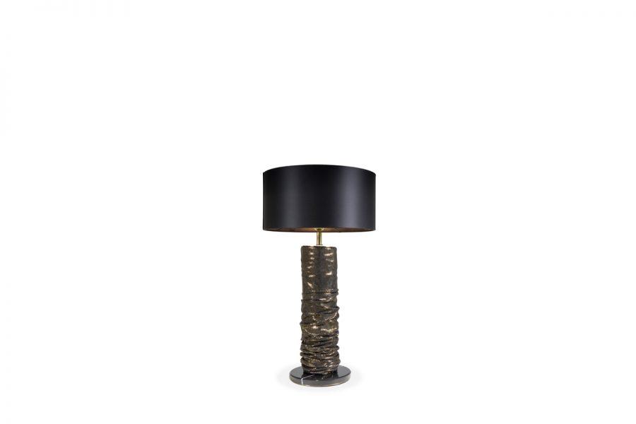 Lámparas de mesa: Ideias poderosas para un proyecto lujuoso lámparas de mesa Lámparas de mesa: Ideias poderosas para un proyecto lujuoso KOKET RUCHE TABLE LAMP 900x600 1