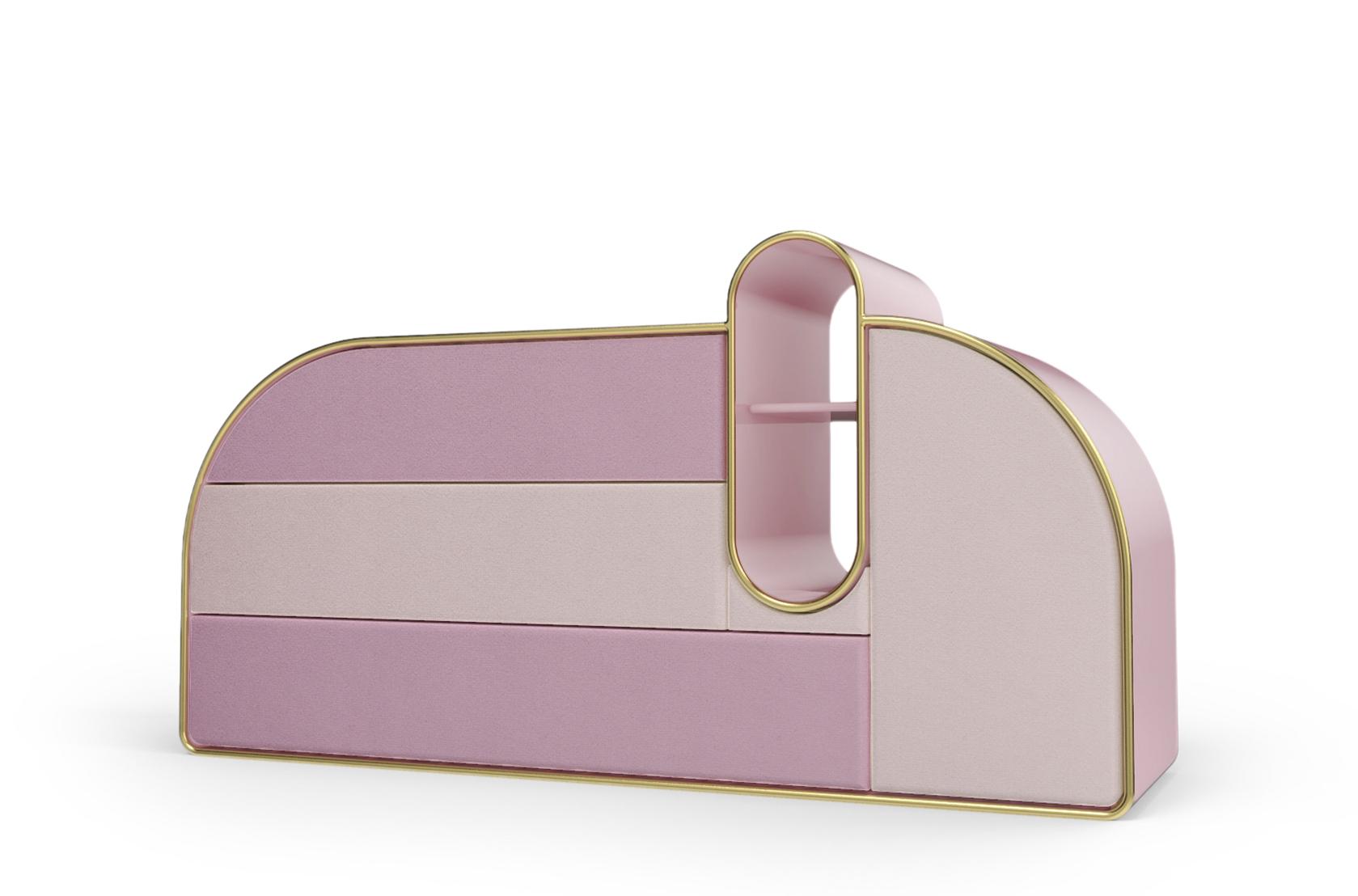 Cofres lujuosos: ideas para poner en un hogar moderno y poderoso cofres lujuosos Cofres lujuosos: ideas para poner en un hogar moderno y poderoso bubble gum chest 3 drawers circu magical furniture 2