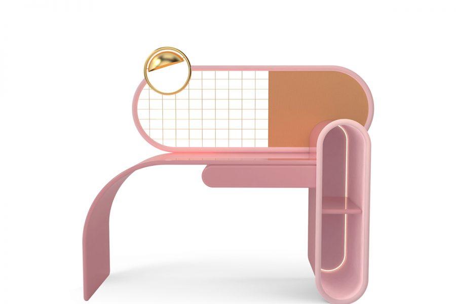 Mesas de Oficina lujuosas: Ideas para un proyecto Moderno mesas de oficina Mesas de Oficina lujuosas: Ideas para un proyecto Moderno circu bubble gum desk 900x600 1